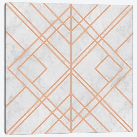 Art Deco Lines Pattern Canvas Print #TFA524} by Tobias Fonseca Canvas Print