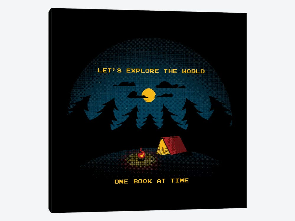 Let's Explore The World by Tobias Fonseca 1-piece Canvas Art Print