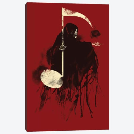 Death Note Canvas Print #TFA55} by Tobias Fonseca Canvas Artwork