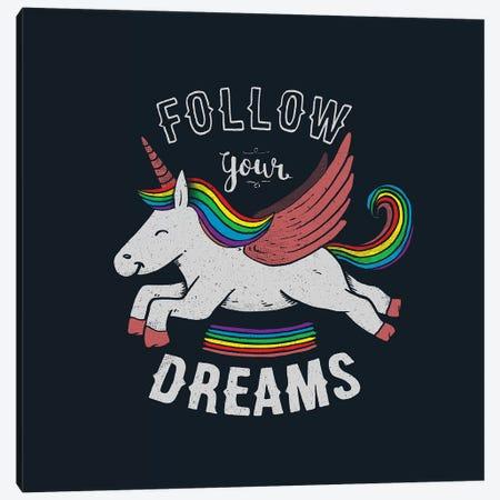 Follow Your Dreams Canvas Print #TFA567} by Tobias Fonseca Canvas Art Print