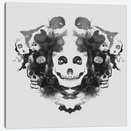 Death Canvas Print #TFA56} by Tobias Fonseca Canvas Artwork