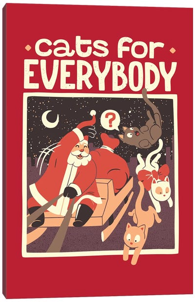 Cats For Everybody Canvas Art Print