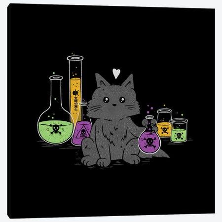 I Think My Cat Wants To Kill Me Canvas Print #TFA615} by Tobias Fonseca Art Print