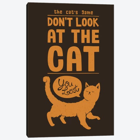 The Cat's Game 3-Piece Canvas #TFA621} by Tobias Fonseca Canvas Art Print