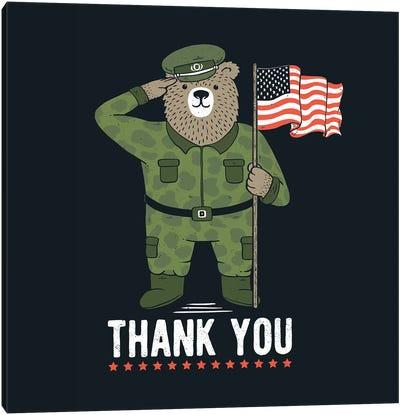 Veteran's Day Canvas Art Print