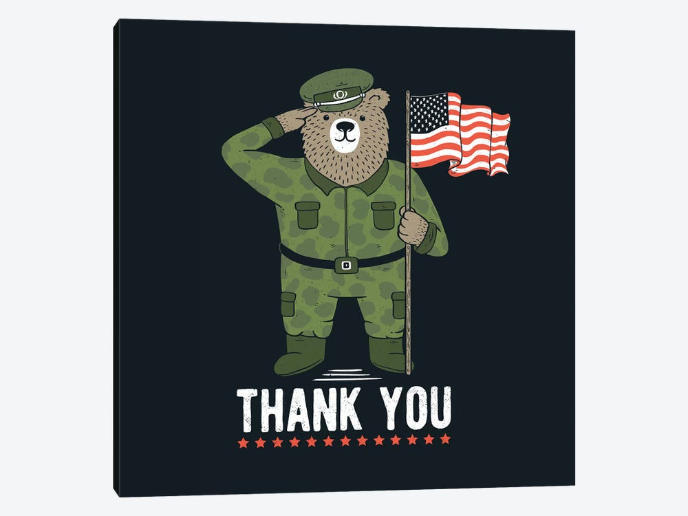 Veteran's Day by Tobias Fonseca 1-piece Canvas Wall Art