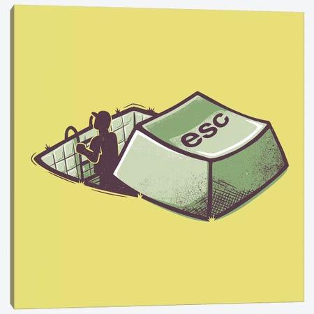 Introvert's Escape Canvas Print #TFA645} by Tobias Fonseca Canvas Artwork