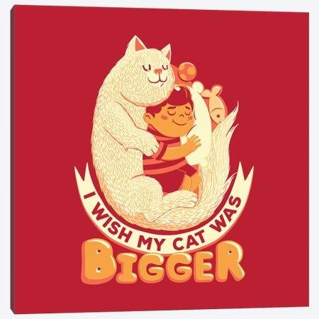 I Wish My Cat Was Bigger II Canvas Print #TFA656} by Tobias Fonseca Canvas Art Print