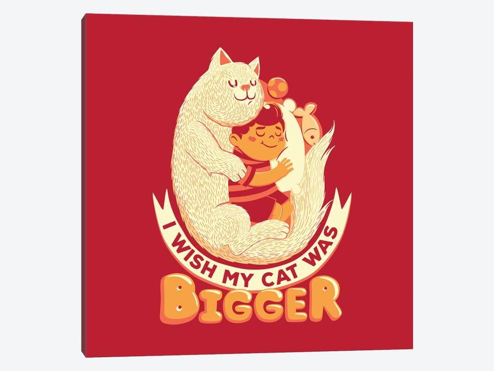 I Wish My Cat Was Bigger II by Tobias Fonseca 1-piece Canvas Artwork