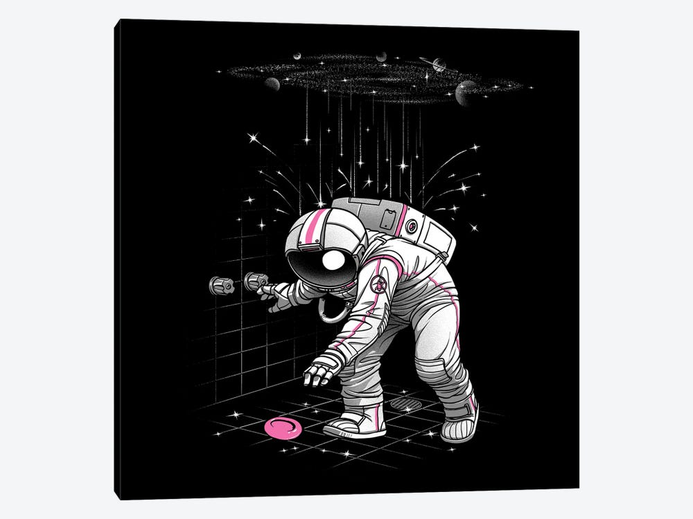 Meteor Shower Astronaut by Tobias Fonseca 1-piece Canvas Print