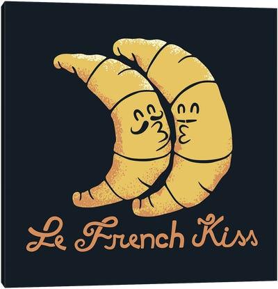 French Kiss Canvas Art Print