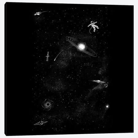 Gravity 3.0 Canvas Print #TFA687} by Tobias Fonseca Canvas Wall Art