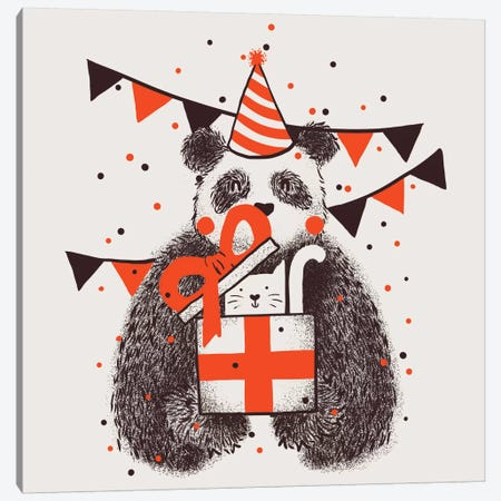 Happybirthday Canvas Print #TFA68} by Tobias Fonseca Canvas Artwork