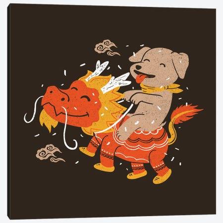 Dog's Year Canvas Print #TFA693} by Tobias Fonseca Canvas Art