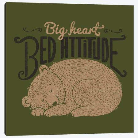 Big Heart Bed Attitude Canvas Print #TFA697} by Tobias Fonseca Canvas Print