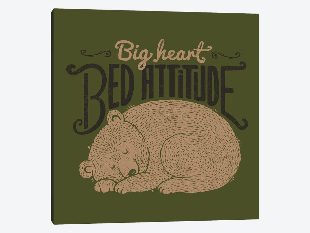 Big Heart Bed Attitude by Tobias Fonseca 1-piece Canvas Print