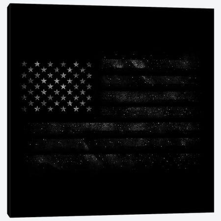 American Flag Canvas Print #TFA702} by Tobias Fonseca Canvas Wall Art