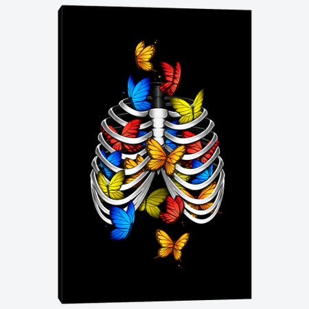 Butterflies in my stomach Canvas Print #TFA710} by Tobias Fonseca Canvas Print