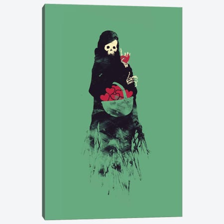Its A Trap Canvas Print #TFA77} by Tobias Fonseca Canvas Wall Art