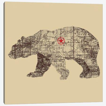 Bearlin Canvas Print #TFA89} by Tobias Fonseca Canvas Artwork