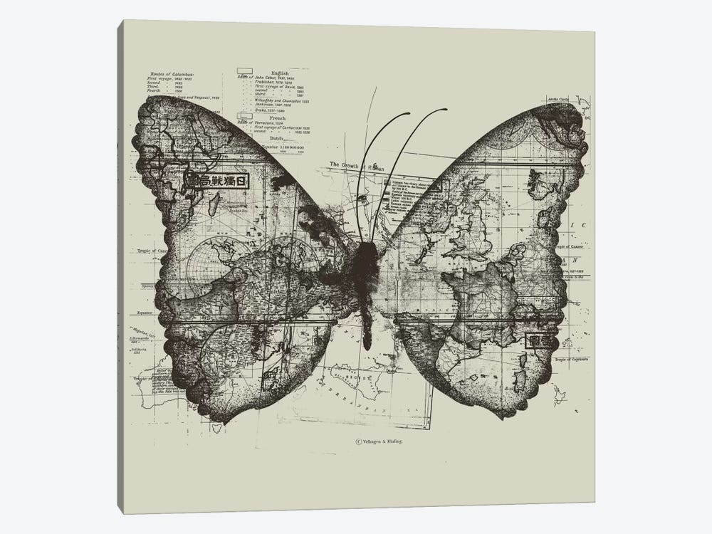 Butterfly Effect by Tobias Fonseca 1-piece Canvas Art