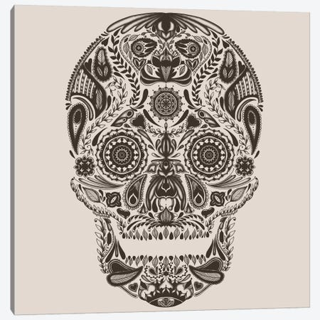 Dia de los Muertos Canvas Print #TFA94} by Tobias Fonseca Canvas Wall Art