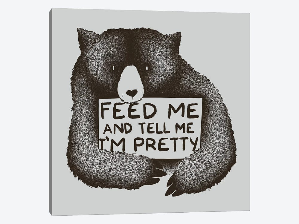 Feed Me And Tell Me I'm Pretty by Tobias Fonseca 1-piece Canvas Art