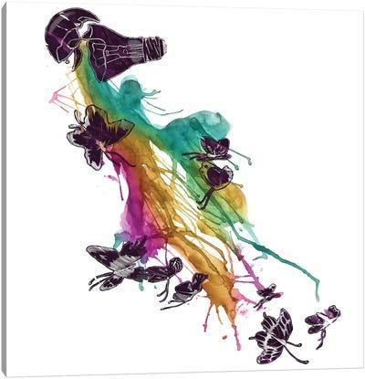 Follow The Colors Canvas Print #TFA97