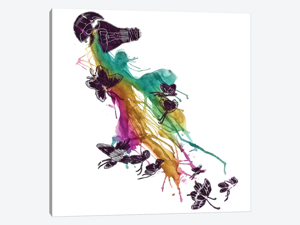 Follow The Colors by Tobias Fonseca 1-piece Art Print