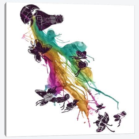 Follow The Colors Canvas Print #TFA97} by Tobias Fonseca Canvas Artwork