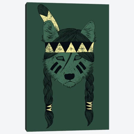 Green Skin Canvas Print #TFA98} by Tobias Fonseca Canvas Art Print