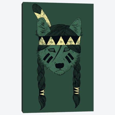 Green Skin Canvas Print #TFA98} by Tobias Fonseca Canvas Art Print