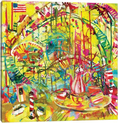 Funlands II Canvas Art Print