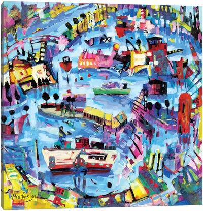 Funlands III Canvas Art Print