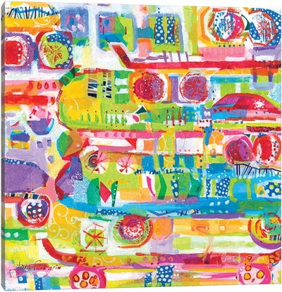 Funlands IV Canvas Art Print