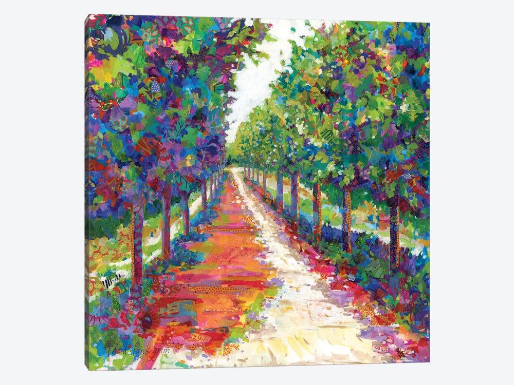 Lime Walk by Tara Funk Grim 1-piece Canvas Art Print