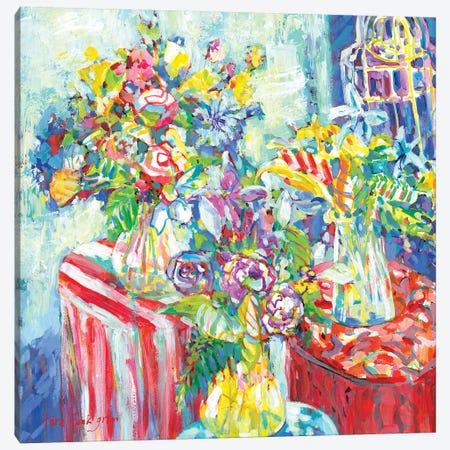 Tutti Frutti II Canvas Print #TFG21} by Tara Funk Grim Canvas Artwork