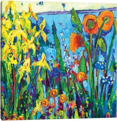 Yellow Garden II Canvas Art Print
