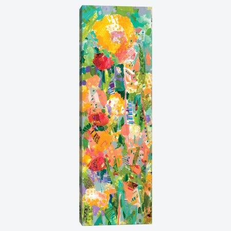 Lime Garden I Canvas Print #TFG4} by Tara Funk Grim Canvas Art Print