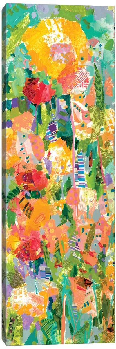 Lime Garden I Canvas Art Print