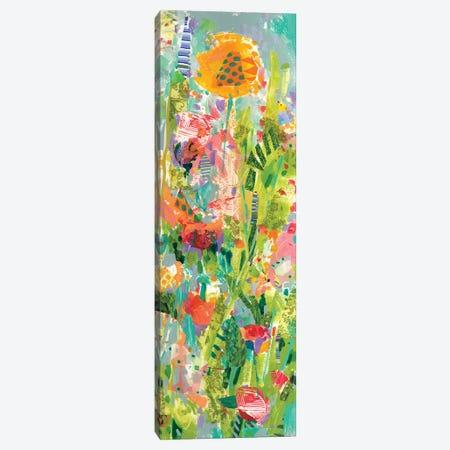 Lime Garden II Canvas Print #TFG5} by Tara Funk Grim Art Print