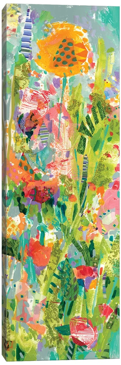 Lime Garden II Canvas Art Print