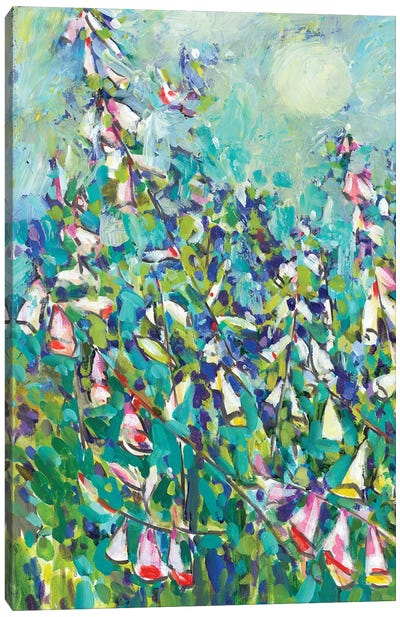 Joy in the Garden I Canvas Art Print