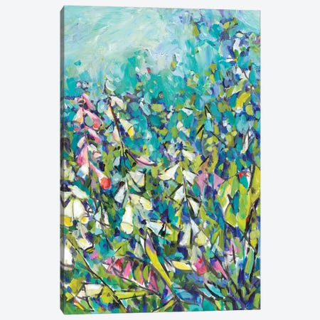 Joy in the Garden II Canvas Print #TFG7} by Tara Funk Grim Canvas Print