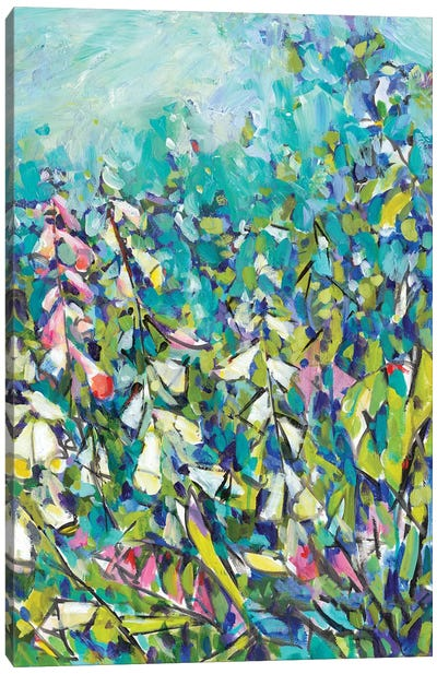 Joy in the Garden II Canvas Art Print