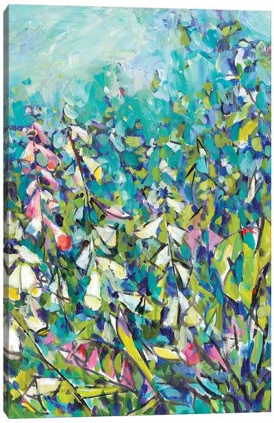 Joy in the Garden II Canvas Art Print