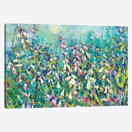Joy in the Garden III Canvas Print #TFG8} by Tara Funk Grim Canvas Art