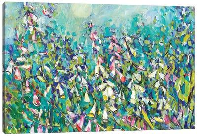 Joy in the Garden III Canvas Art Print