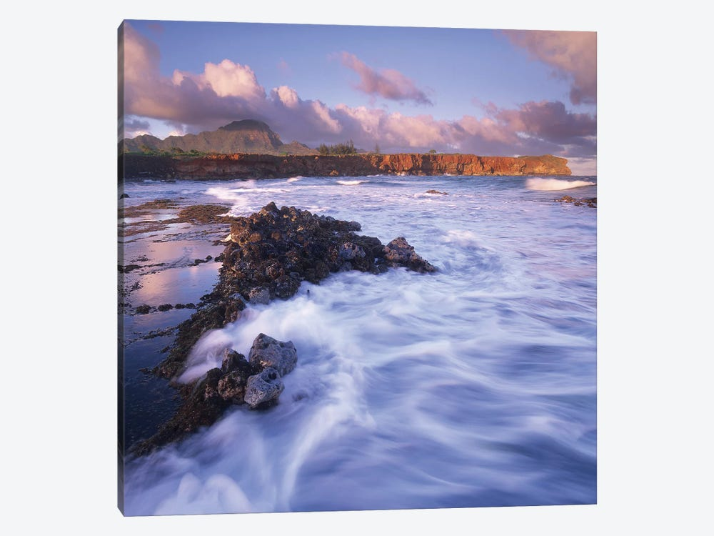 Shipwreck Beach, Kauai, Hawaii by Tim Fitzharris 1-piece Canvas Print