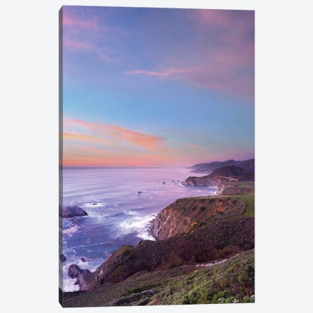 Bixby Bridge, Big Sur, California II Canvas Print #TFI100} by Tim Fitzharris Art Print